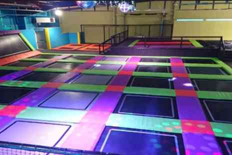 Planet Leisure - Bouncing Session, Bowling and Choice of Laser Game or Roller Skating for One or Four - Save 48%
