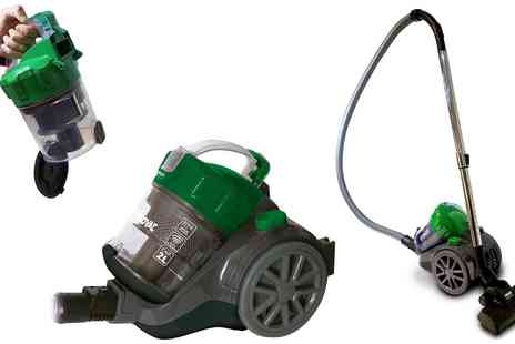 Groupon Goods Global GmbH - XSQUO Turbovac ERP II Vacuum Cleaner With Free Delivery - Save 0%
