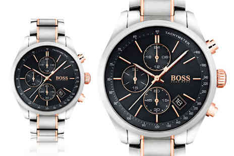 Hip Watches - Mens HB1513473 Hugo Boss Grand Prix watch - Save 63%