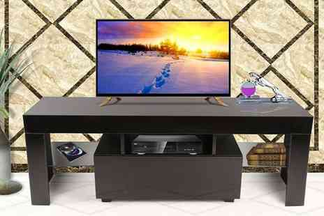 Cosmo Buy- High gloss TV cabinet choose from six designs - Save 69%