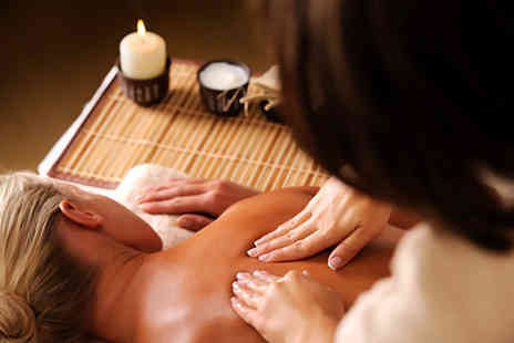 Beyond Beauty - One hour Swedish or aromatherapy massage plus either an express facial, Shellac fingers or toes - Save 73%