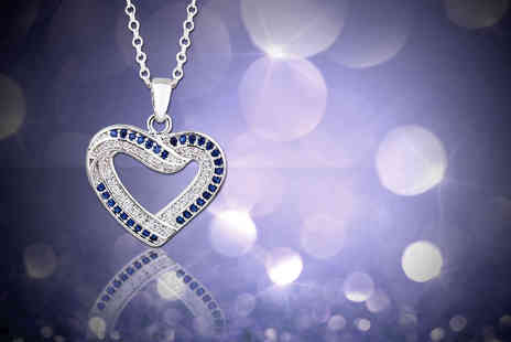 Evoked Design - Cystal heart necklace - Save 88%