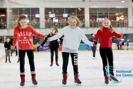 National Ice Centre - One junior, adult or family ticket from 1st To 31st August - Save 33%