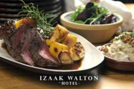 The Izaak Walton Hotel - Two Course Sunday Lunch For Two - Save 38%