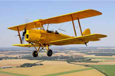 Virgin Experience Days - Tiger Moth Flight and Tank Driving for Two - Save 0%