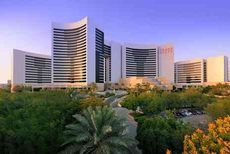 Grand Hyatt Dubai - Five Star Contemporary Style with Stunning Skyline Views for two - Save 78%