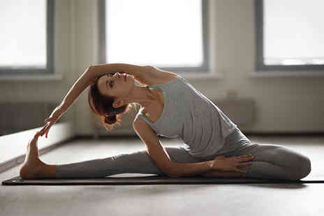 Salty Yoga - Five hot salt yoga classes for one - Save 66%