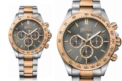 Hip Watches - Hugo Boss mens Ikon two tone watch - Save 68%