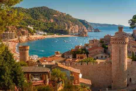 Super Escapes Travel - Three nights all inclusive Costa Brava getaway with return flights - Save 20%