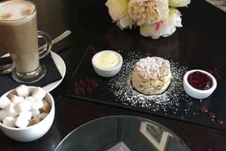 Kings Restaurant - Cream Tea with Optional Glass of Wine For Two or Four - Save 53%