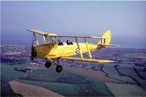 Virgin Experience Days - 20 minute Tiger Moth Flight and IWM Duxford Entry - Save 0%