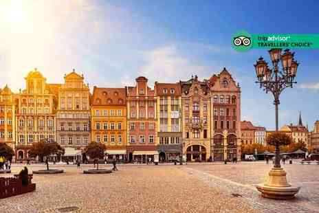 Bargain Late Holidays - Five Star Escape with a three, four or five nights getaway to Krakow Now with the ability to choose your flight - Save 0%