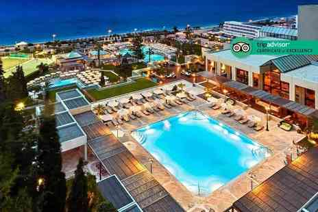 Bargain Late Holidays - Five Star Escape with a five or seven nights half board getaway to Rhodes, Greece Now with the option to choose your flight - Save 0%