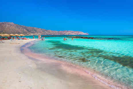 Bargain Late Holidays - Four nights all inclusive Crete holiday with return flights - Save 33%