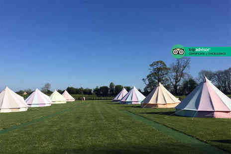 Botany Camping - Two nights of luxury glamping in a bell tent for up to five people - Save 57%