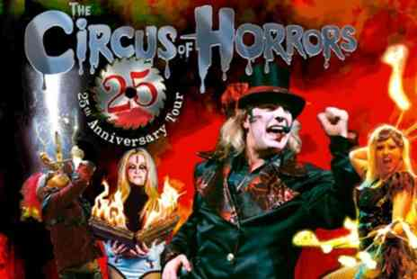 The Circus of Horrors - One ticket from 25th October To 17th November - Save 45%