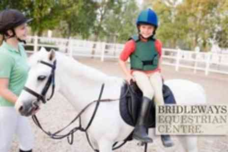 Bridleways Equestrian Centre - Horse Riding Three Lessons For One Children - Save 79%