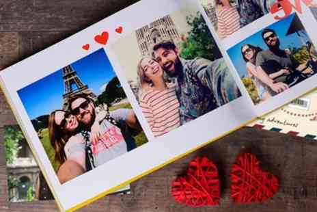 Colorland - 100 or 140 Page Personalised A4 Photobooks - Save 79%