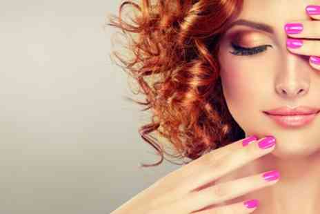 Suprina Salon and Spa - Mini Manicure or Pedicure or Both with Optional Dermalogica Facial - Save 33%