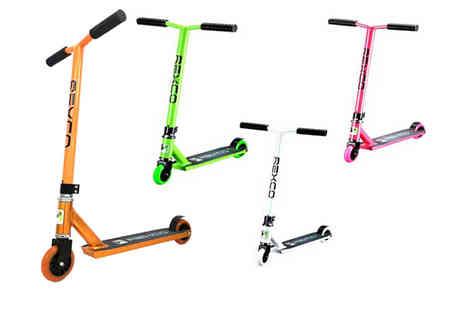 Eurotrade - Rexco fixed bar scooter choose from four colours - Save 56%