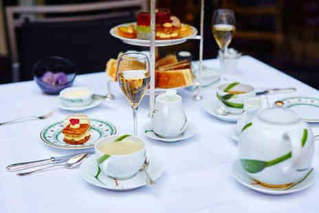 The Bell at Sax - Sparkling afternoon tea for two people with a glass of prosecco each - Save 52%
