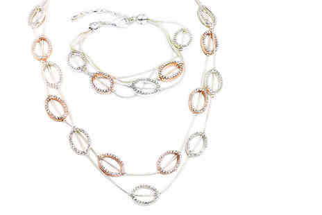 Victorias Candy - Dayton two piece jewellery set - Save 84%