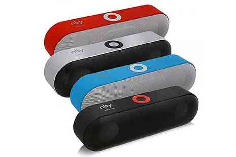 MBLogic - Bluetooth capsule speaker choose from four colours - Save 73%