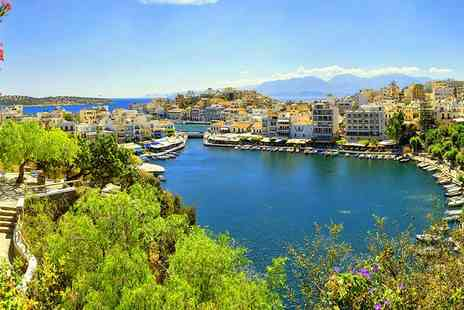 Bargain Late Holidays - Five Star Seven nights all inclusive Crete break with return flights - Save 29%