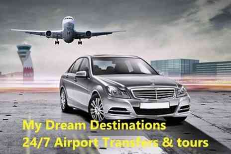 my dream destinations - Share Ride from Gatwick Airport to Central London - Save 0%