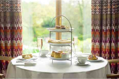 Cowley Manor - Champagne Afternoon Tea for Two - Save 0%
