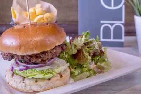 Blend Bar & Grill - Burger, Side and Soft Drink for Up to Four - Save 46%