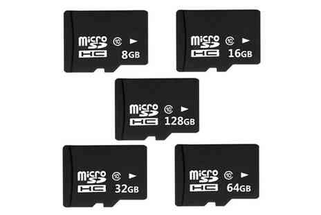 Secret Storz - Micro SD memory card choose from six sizes - Save 83%