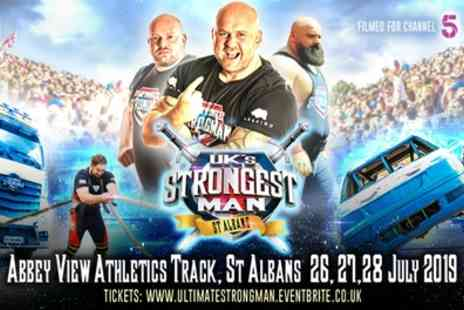 UKs Strongest Man - Ticket Child or Adult From 26th To 27th July - Save 40%