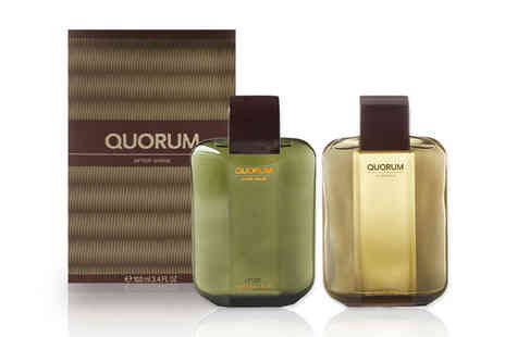Wowcher Direct - 100ml Quorum aftershave - Save 36%