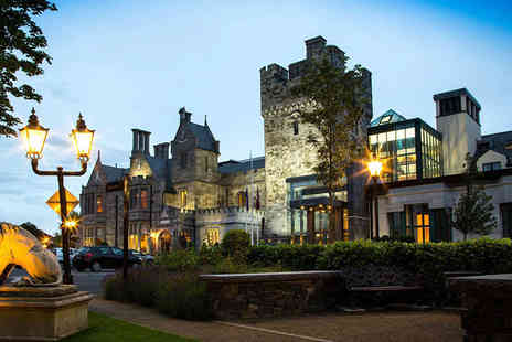 Clontarf Castle Hotel - Overnight stay for two people including breakfast, a bottle of Prosecco, chocolates and a late check out - Save 42%