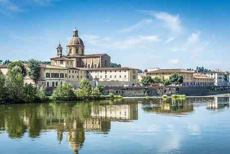 NH Anglo American - Four Star Elegance near the Banks of the River Arno for two - Save 74%