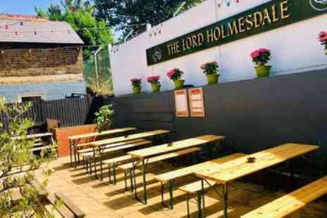 The Lord Holmesdale - Pizza and Drink Each for Two or Four - Save 54%