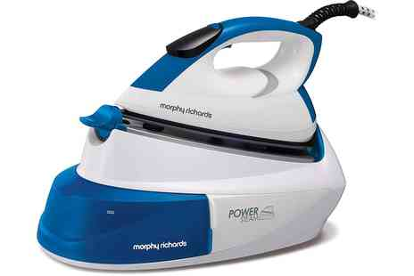 Groupon Goods Global GmbH - Morphy Richards 2400W 333007 Compact Steam Generator Iron with IntelliTemp Technology With Free Delivery - Save 0%