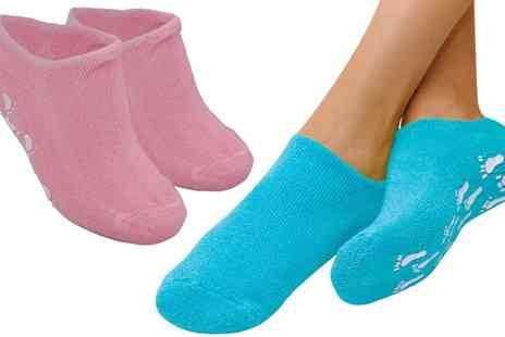 Groupon Goods Global GmbH - One or Two Pairs of Pro 11 Wellbeing Moisturising Socks - Save 0%