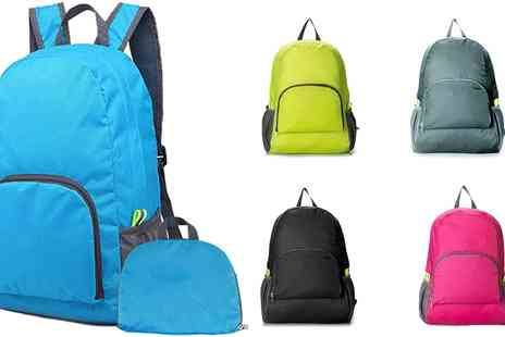 Groupon Goods Global GmbH - Waterproof Foldable Backpack - Save 0%