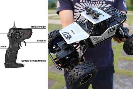 Domo Secret - Xl Off Roading High Speed Buggy with Four Wheel Drive And Remote Control - Save 79%