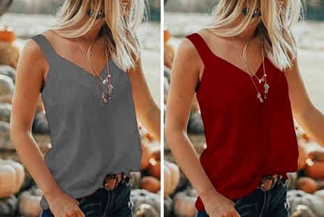 MBLogic - Gightweight v neck summer vest choose from four colours - Save 75%