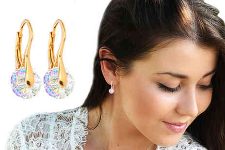 Ah Jewellery - Pair of briolette earrings made with crystal from Swarovski choose from six colours - Save 0%
