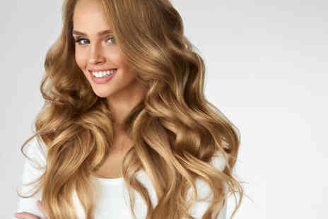 Love Your Hair - Half head highlights package including a hair wash with a conditioning hair mask treatment, a haircut and finish - Save 52%