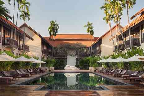 Anantara Angkor Resort - Regal Siem Reap Suite Escape with Spa and Airport Transfers - Save 0%