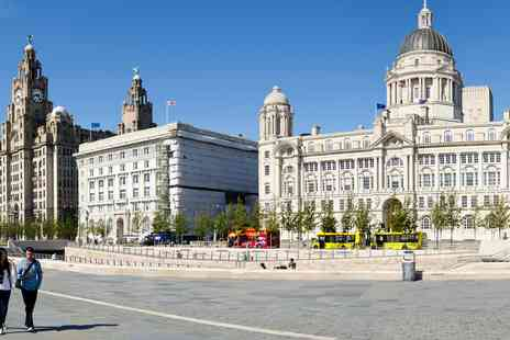 Mercure Liverpool Atlantic Tower Hotel - Liverpool stay with breakfast and bottle of bubbly - Save 0%