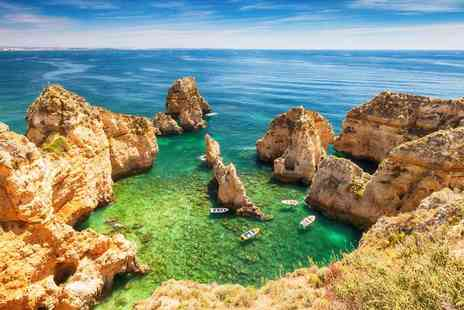 Super Escapes Travel - Two nights all inclusive Algarve holiday with return flights - Save 46%