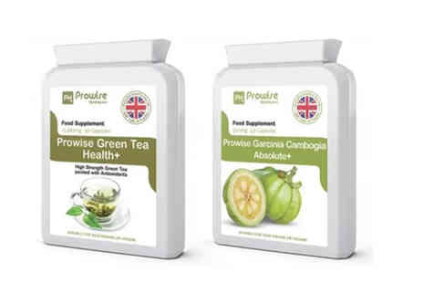 Prowise Healthcare - Green tea and garcinia bundle - Save 80%