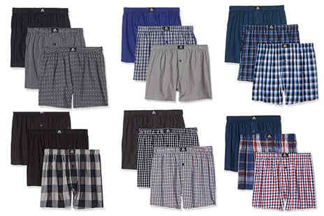 Francis McIntyre - Pack of three mens boxer shorts - Save 75%