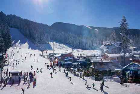 Travel Center - Two nights Bulgaria ski resort break with breakfast and flights - Save 27%